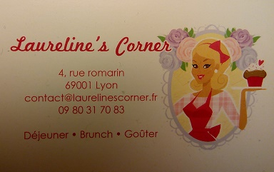 Business card: front and back