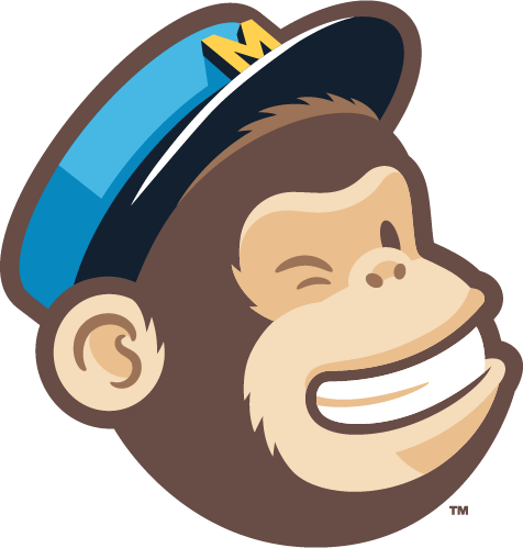 Colored Freddie, the mascot of my beloved Mailchimp e-mail marketing automation tool (who is winking at me - and you; so cheeky!)